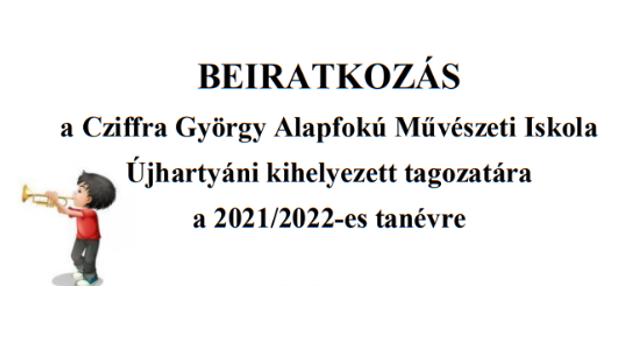 Beiratkozás – Cziffra György Alapfokú Művészeti Iskola
